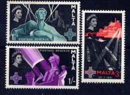 MALTE - 262/264** - GEORGE CROSS - Malta (...-1964)