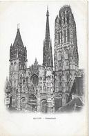! - France - Rouen - Cathédrale - 2 Scans - Rouen