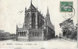 ! - France - Rouen - Bon-Secours - L'Abside - 2 Scans - Rouen