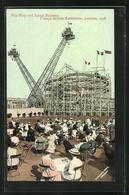 AK London, Franco-British Exhibition 1908, Flip-Flap And Spiral Railway - Ausstellungen
