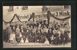 AK Görgeshausen, Goldene Hochzeitsfeier Der Eheleute Jakob Nink Im Gasthaus J. Nink - Non Classés