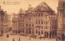 BRUXELLES - Grand'Place - Côté Sud-Ouest - South-West Side - Places, Squares