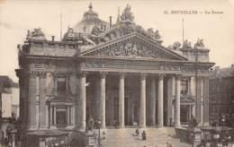 BRUXELLES - La Bourse - Monuments, édifices