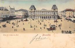 BRUXELLES - Place De La Gare Du Nord - Places, Squares