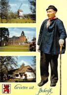 CPM - Provinciedomein BOKRIJK - Kasteel En Beelden Uit Het Vlaamse Openluchtmuseum - Genk