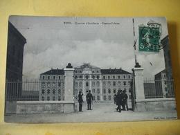 54 1422 CPA 1914 - 54 TOUL - QUARTIER D'ARTILLERIE - CASERNE FABVIER - ANIMATION - Caserme