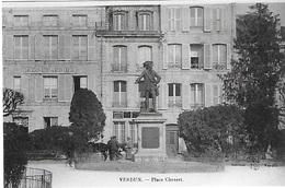 ! - France - Meuse - Place Chevert - 2 Scans - Verdun