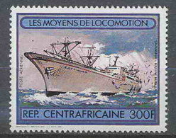 Centrafricaine 055 N°258 Bateau (bateaux Ship Ships) Savannah - Centrafricaine (République)