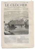 Journal Le Clocher N°47 Du 22/05/1875 Jean Loyseau - Auteuil Et Sa Source - Nouvelles De Rome ... - Journaux - Quotidiens