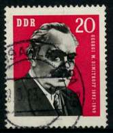 DDR 1962 Nr 894 Gestempelt X8E0BD2 - [6] République Démocratique