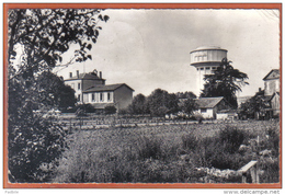 Carte Postale 47. Aiguillon  Le Chateau D'Eau Et L'Ecole Des Filles  Trés Beau Plan - Sonstige Gemeinden