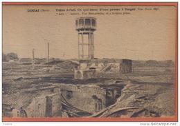 Carte Postale 59. Douai Usine Arbel Presse à Forger  Chateau D'eau   Trés  Beau Plan - Douai