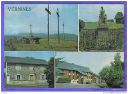 Carte Postale 63. Vernines   Trés Beau Plan - Other Municipalities