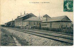 60960 FEUQUIÈRES, La Verrerie - Lot De 2 CPA - Détails Dans La Description - Altri Comuni