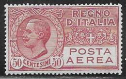 Italy Scott # C3 Mint Hinged Airmail, 1928 - 1900-44 Vittorio Emanuele III