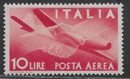 Italy Scott # C110 Mint Hinged Airmail, 1945 - 6. 1946-.. Republic