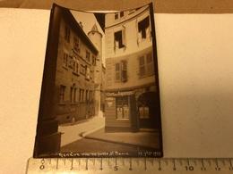 Photo Original Suisse Genève Rue Du Puits - Automobiles