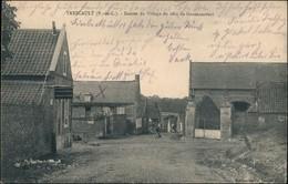 CPA Trescault (Pas-de-Calais) Eingang Zur Stadt 1915 - Frankreich