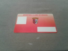 Portugal - Nice Membershipcard Football - Portugal