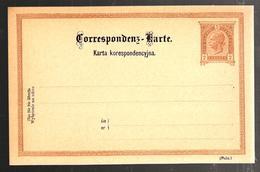 28748 - KARTA KORESPONDENCYJNA - Entiers Postaux