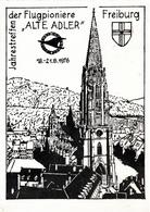 ! 1976 Ansichtskarte Freiburg, Treffen Der Flugpioniere Alte Adler, Baden-Württemberg - Freiburg I. Br.