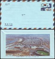 Korea - 1986 F - Olympic Games 1988 - Aerogram - Estate 1988: Seul