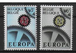COB 1415/1416 Avec Charnières - Belgium