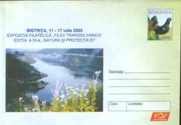 """Romania - Stationery Cover Unused 2005(025) -Philatelic Exhibition """"Filex Transsilvanica"""" -""""Nature And Its Protection"""" - Esposizioni Filateliche"""