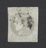 FRANCE 1870 CERES BORDEAUX 10c BISTRE Nº 41B - 1870 Emission De Bordeaux