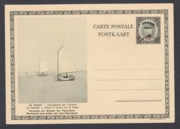 Belgique - EP Képi Surchargé 40C Sur 30C Vert : La Panne - Chars à Voiles Sur La Plage (DD) DC7130 - Ganzsachen