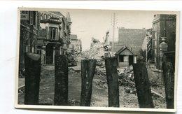 Carte Photo 62 : BERCK  Ruines De La Rue Rotschild  A  VOIR  !!!!!!! - Berck