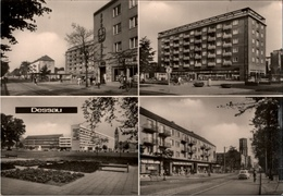 ! DDR Ansichtskarte Dessau, Wilhelm Pieck Straße - Dessau