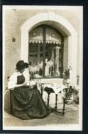 SUISSE - DENTELLIERE DE LA GRUYERE - S. Glasson, Phot. Bulle - Carte Photo - FR Fribourg