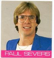 Sticker - Zanger Componist - Paul Severs - Autocollants