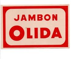 BUVARD JAMBON OLIDA - Carte Assorbenti