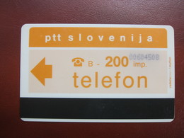 Autelca Phonecard,backside With PBS Advertisement,used - Slovénie