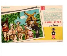 BUVARD CAFE FAMILISTERE - Carte Assorbenti