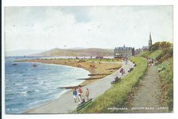 Largs - Promenade, Broomfields - Artist Brian Gerald - Art Colour 550 - Ayrshire