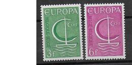 COB 1389/1390 Avec Charnières - Belgium