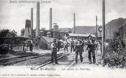 Mont Saint Martin - Les Usines Du Port Sec - Longwy