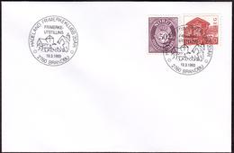 NORWAY - Brandbu 1993 «Hadeland Stamp Club 20th Anniversary» - Esposizioni Filateliche