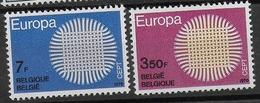 COB 1530/1531 Avec Charnières - Belgium