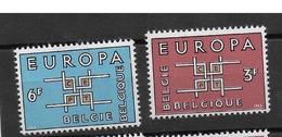 COB 1260/1261 Avec Charnières - Belgium