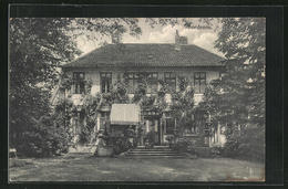 AK Bordenau, Blick Vom Garten Auf Das Schloss Im Sommer - Non Classificati
