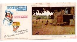 BUVARD FLAN LYONNAIS - Carte Assorbenti