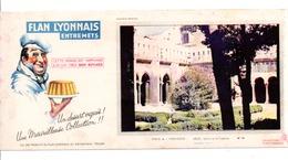 BUVARD FLAN LYONNAIS - ARLES - Carte Assorbenti