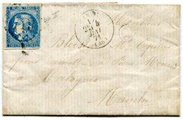 MANCHE De CANISY LSC Du 4/05/1871 Avec N°46 Report 2 Oblitéré GC 719 - Storia Postale