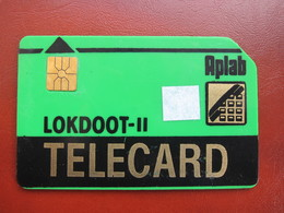 Chip Phonecard,Lokdoot-II,thick Card,used - India