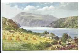 Harvest Time In Ireland - Verse Eva Brennan - Artist Brian Gerald - Art Colour 592 - Künstlerkarten