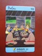Prepaid Phonecard, Conch Shell,used - Palau